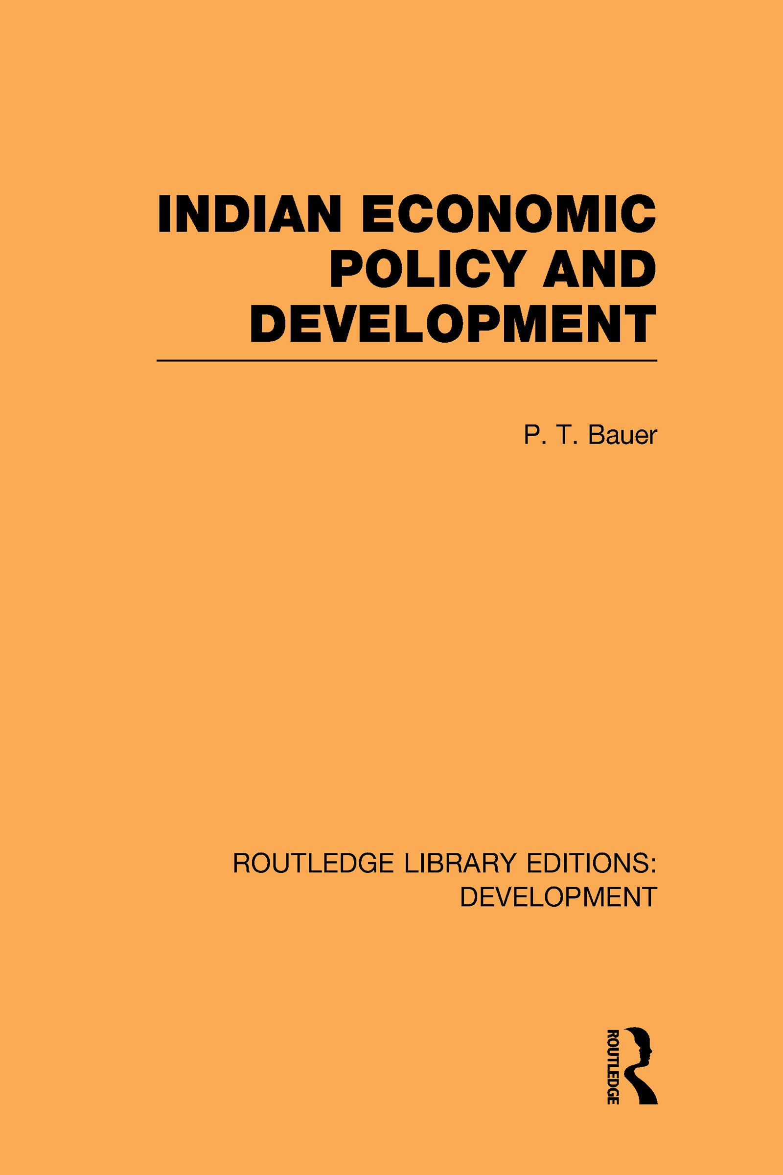 Indian Economic Policy and Development