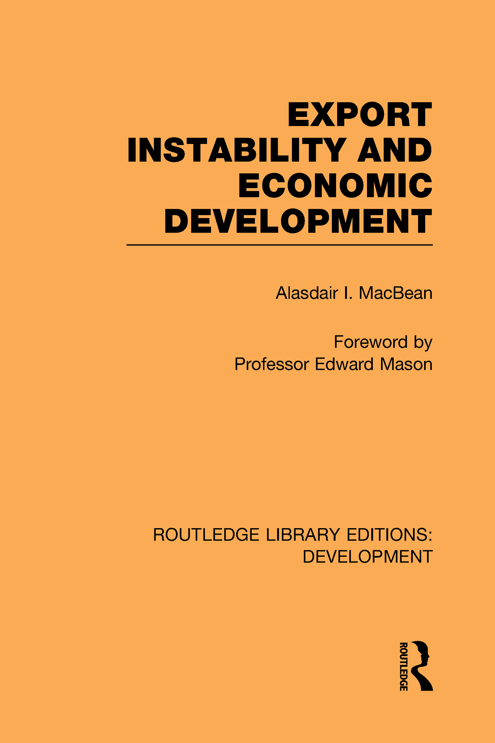 Export Instability and Economic Development (Hardback) book cover