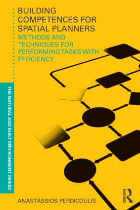 Building Competences for Spatial Planners: Methods and Techniques for Performing Tasks with Efficiency (Paperback) book cover