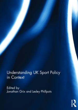 Understanding UK Sport Policy in Context (Hardback) book cover