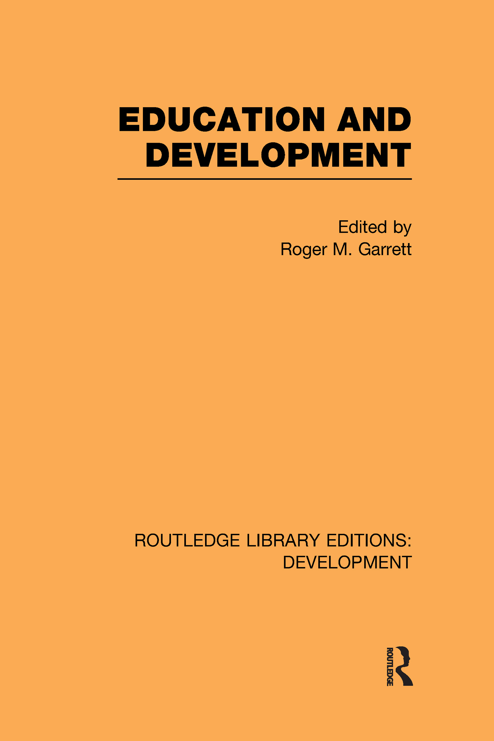 Education and Development (Hardback) book cover