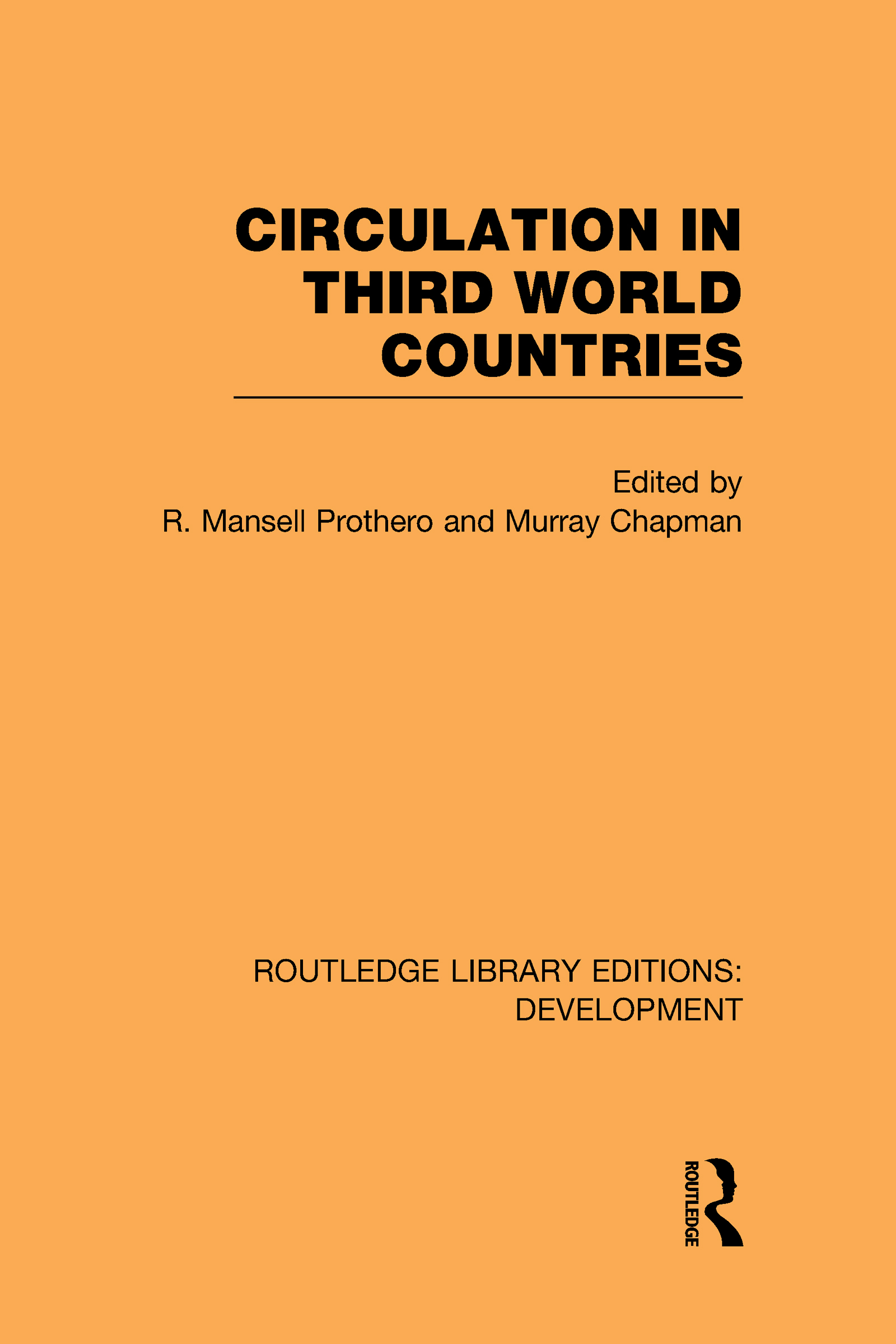 Circulation in Third World Countries (Hardback) book cover