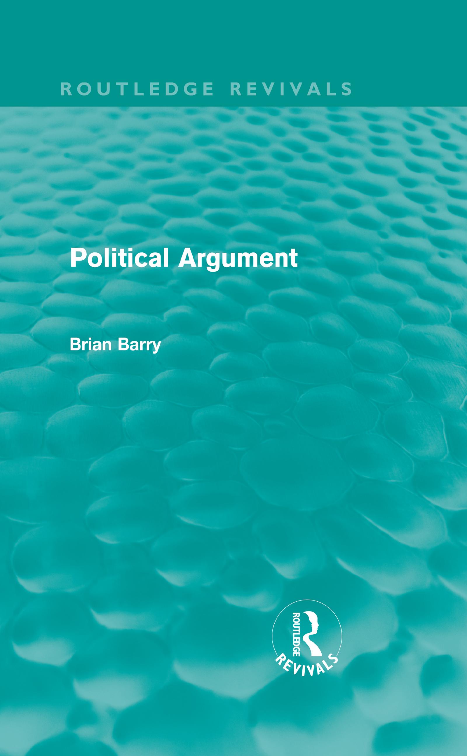 Political Argument (Routledge Revivals)