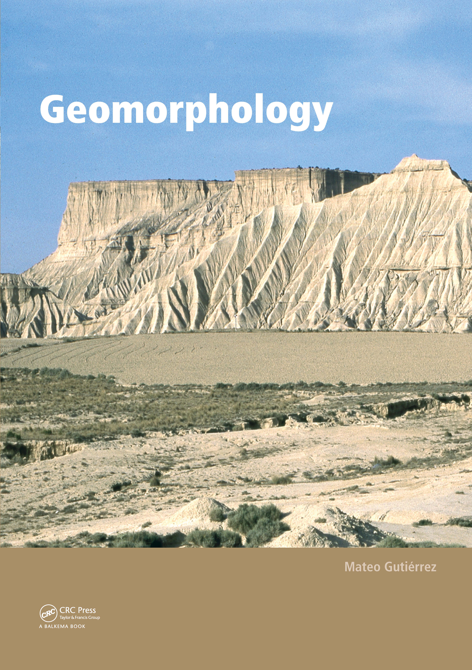Geomorphology (Paperback) book cover