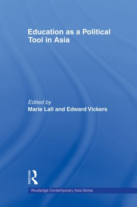 Education as a Political Tool in Asia (Paperback) book cover