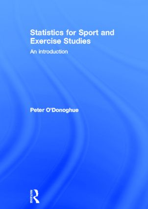 Statistics for Sport and Exercise Studies: An Introduction book cover