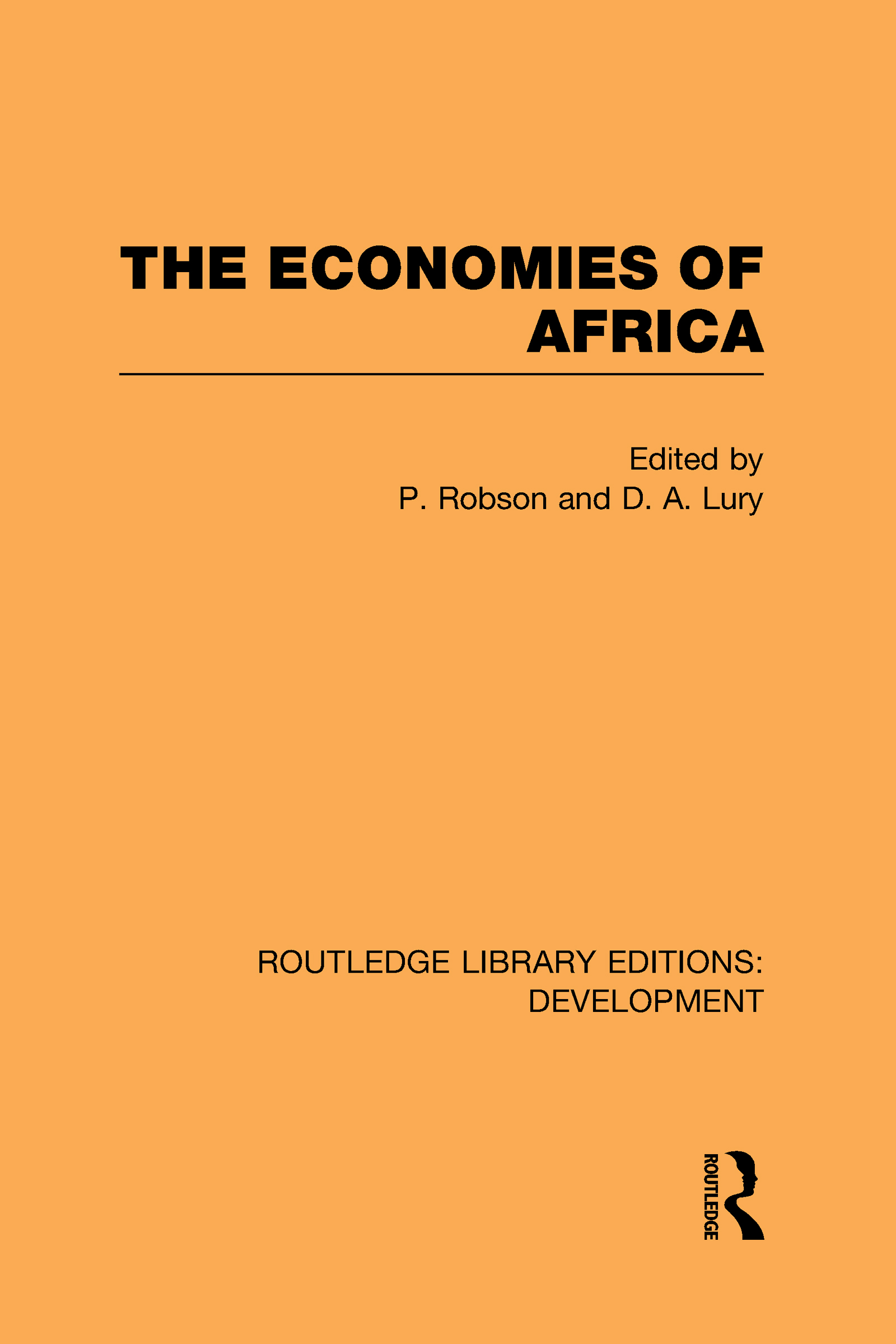 The Economies of Africa (Hardback) book cover