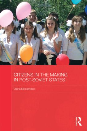 Citizens in the Making in Post-Soviet States (Hardback) book cover