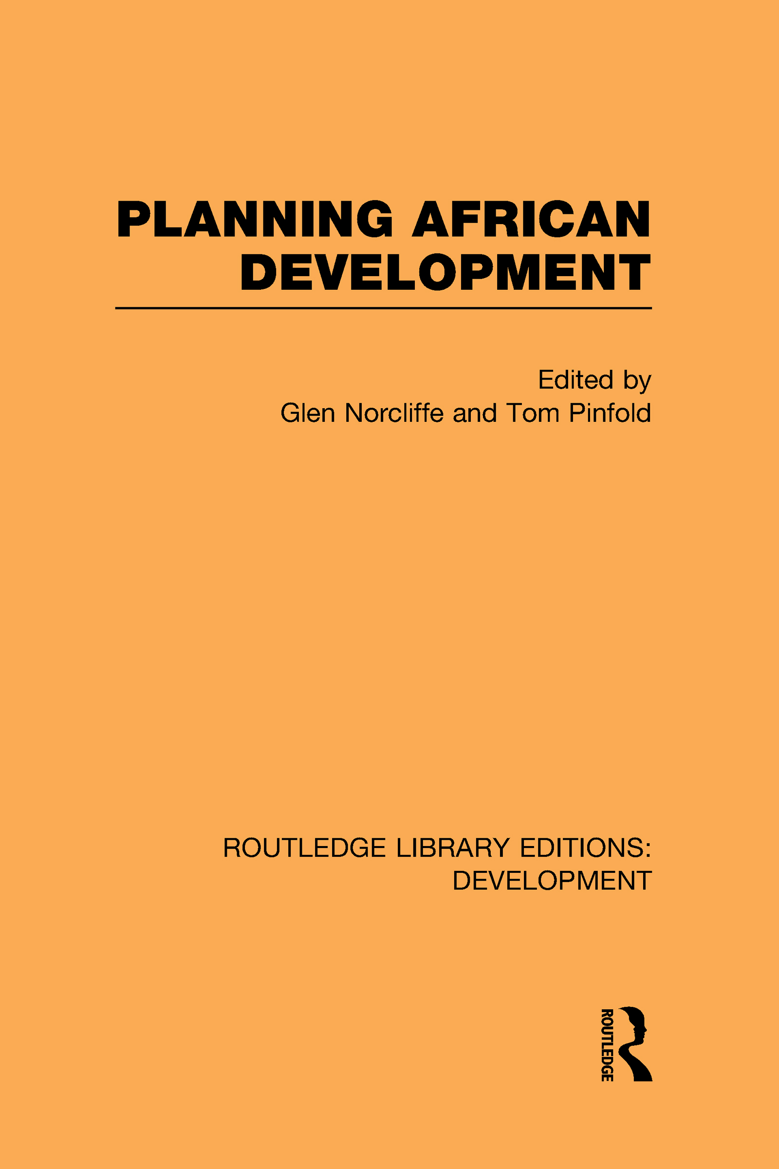 Planning African Development (Hardback) book cover