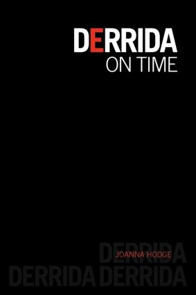 Derrida on Time book cover