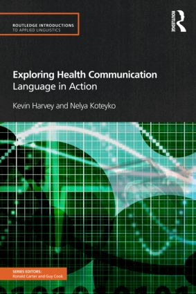 Exploring Health Communication: Language in Action book cover