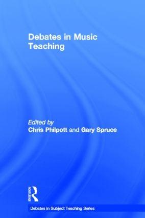 Debates in Music Teaching book cover