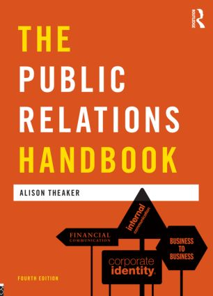 The Public Relations Handbook: 4th Edition (Paperback) book cover
