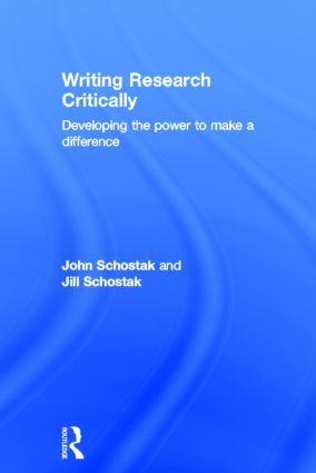 Writing Research Critically: Developing the power to make a difference, 1st Edition (Hardback) book cover