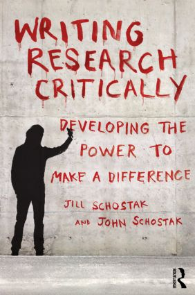 Writing Research Critically: Developing the power to make a difference (Paperback) book cover