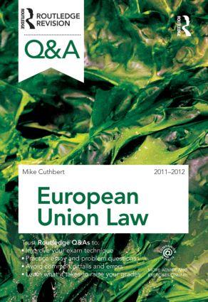Q&A European Union Law 2011-2012