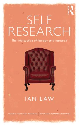 Self Research: The intersection of therapy and research (Paperback) book cover