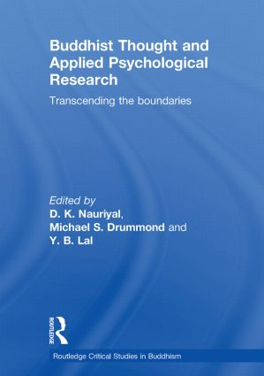 Buddhist Thought and Applied Psychological Research: Transcending the Boundaries book cover