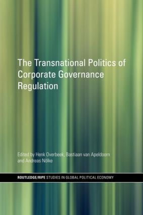The Transnational Politics of Corporate Governance Regulation (Paperback) book cover