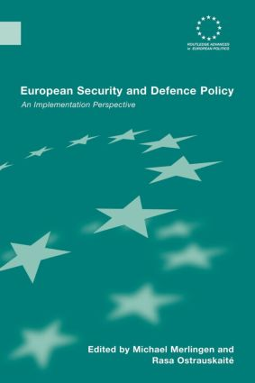 European Security and Defence Policy: An Implementation Perspective (Paperback) book cover