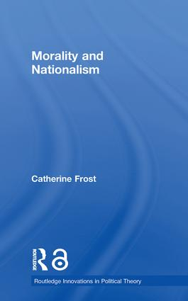 Morality and Nationalism (Paperback) book cover