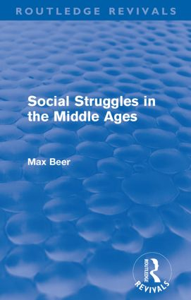 Social Struggles in the Middle Ages (Routledge Revivals) (Paperback) book cover