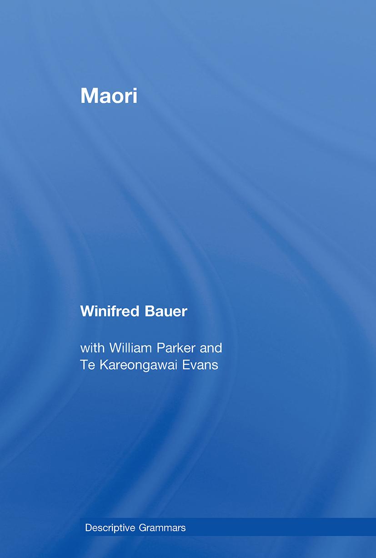 Maori (Paperback) book cover