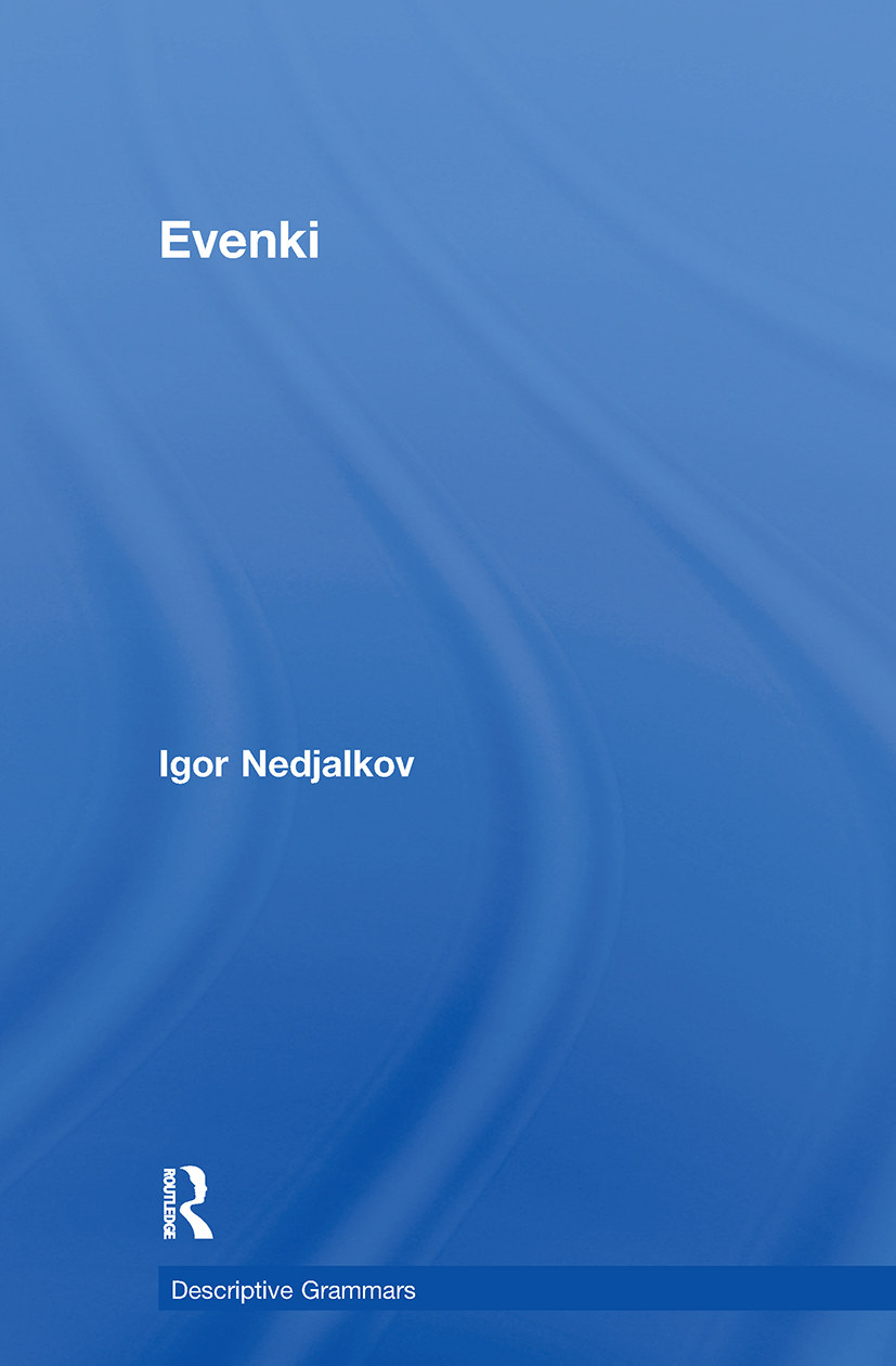 Evenki: 1st Edition (Paperback) book cover