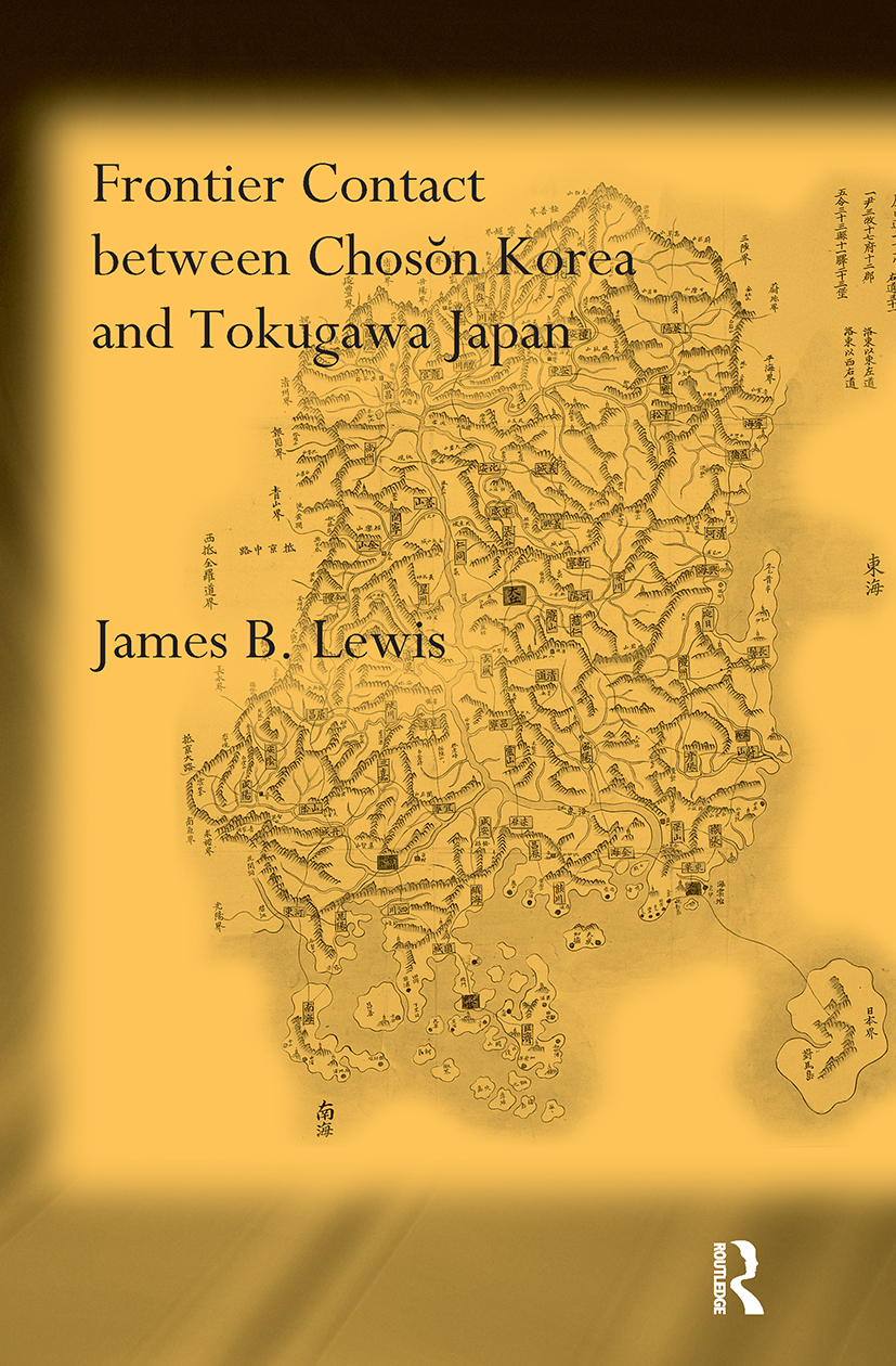 Frontier Contact Between Choson Korea and Tokugawa Japan book cover