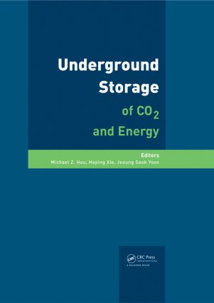 Underground Storage of CO2 and Energy: 1st Edition (Hardback) book cover