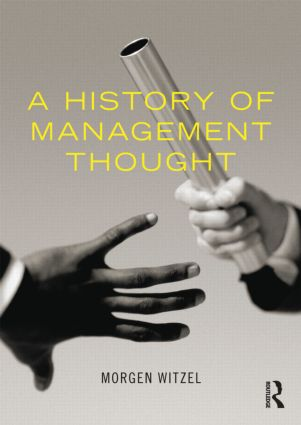 A History of Management Thought (Paperback) book cover