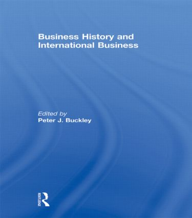 Business History and International Business (Hardback) book cover