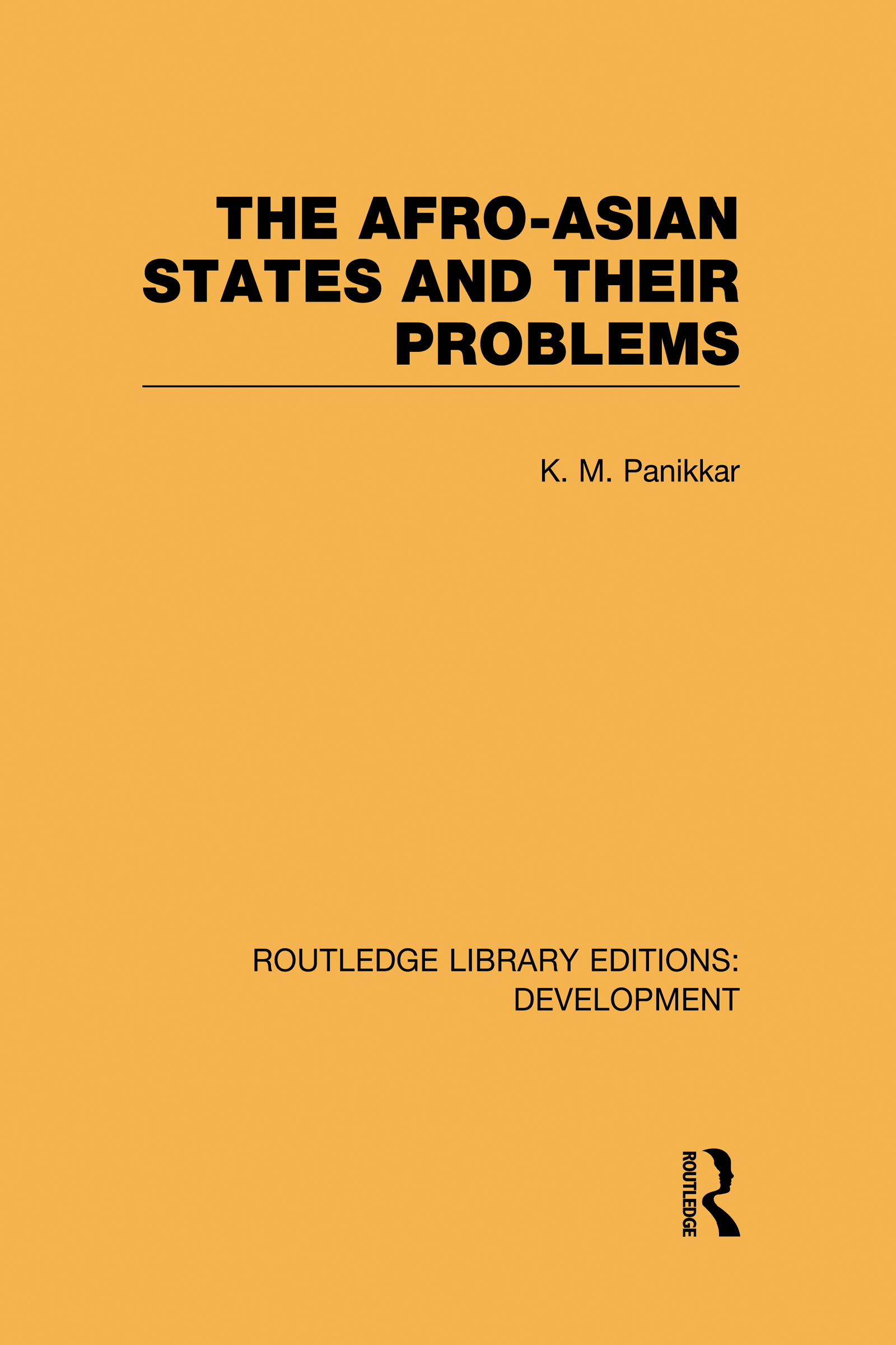The Afro-Asian States and their Problems (Hardback) book cover