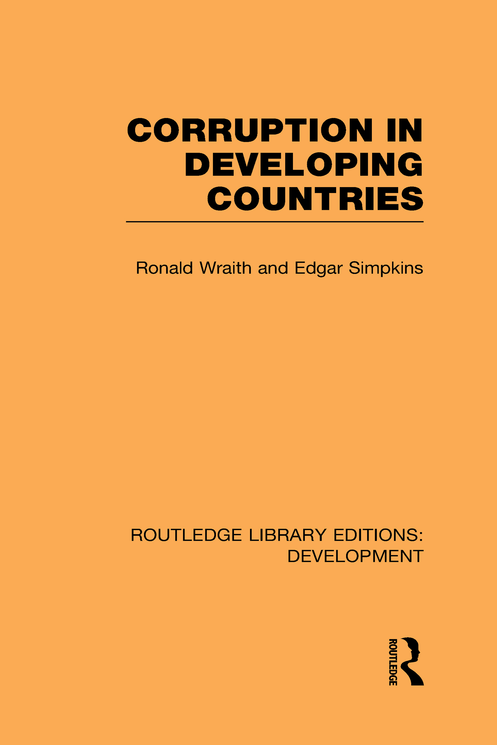 Corruption in Developing Countries (Hardback) book cover