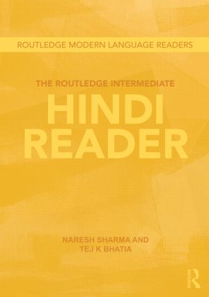 The Routledge Intermediate Hindi Reader (Paperback) book cover