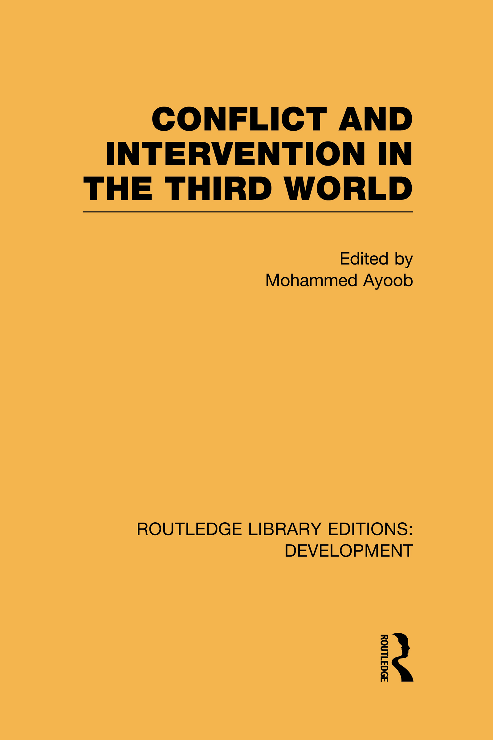 Conflict Intervention in the Third World (Hardback) book cover