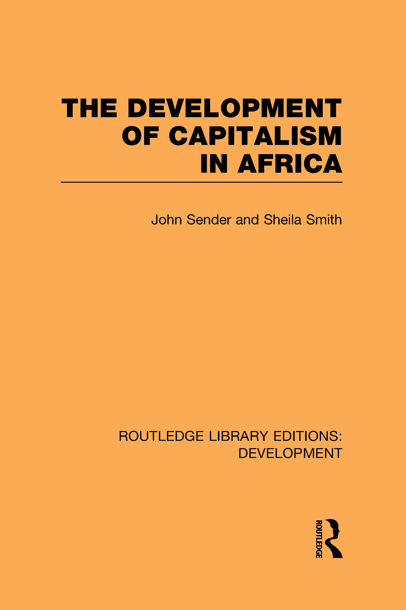 The Development of Capitalism in Africa (Hardback) book cover
