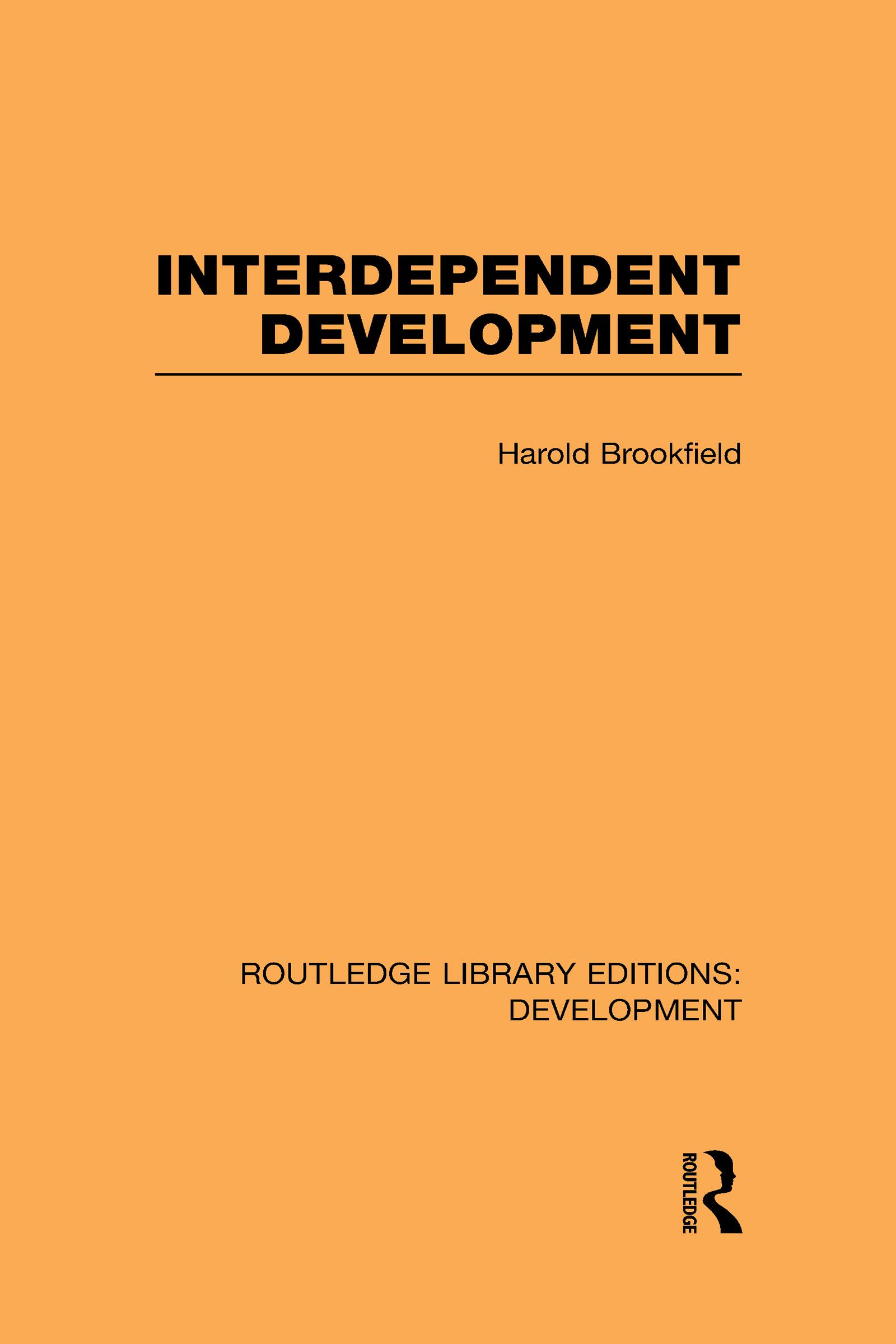 Interdependent Development (Hardback) book cover