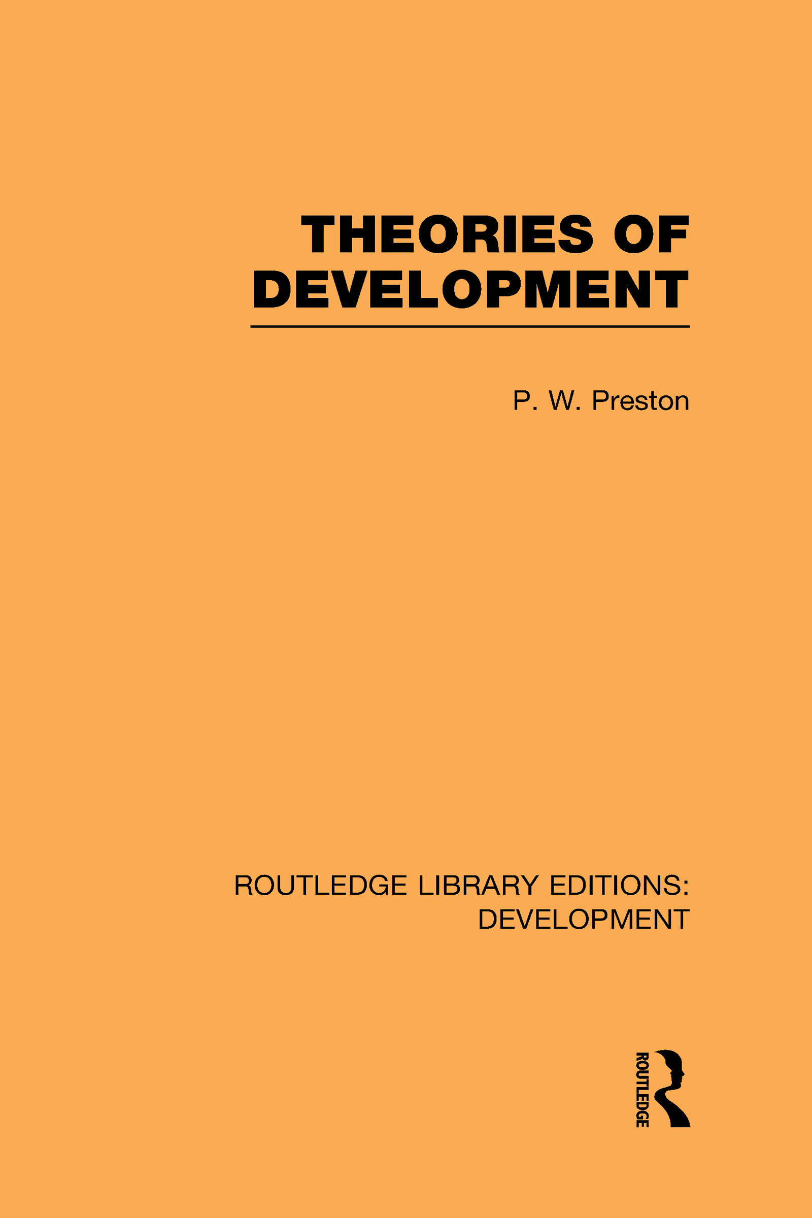 Theories of Development (Hardback) book cover