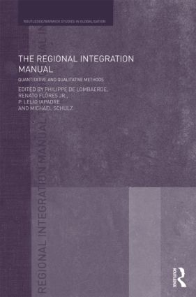 The Regional Integration Manual: Quantitative and Qualitative Methods (Hardback) book cover