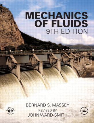 Mechanics of Fluids, Ninth Edition: 9th Edition (Paperback) book cover