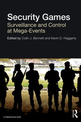 Security Games: Surveillance and Control at Mega-Events, 1st Edition (Hardback) book cover
