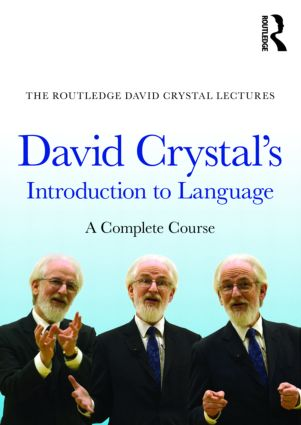 David Crystal's Introduction to Language: A Complete Course, 1st Edition (DVD) book cover