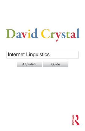 Internet Linguistics: A Student Guide (Paperback) book cover