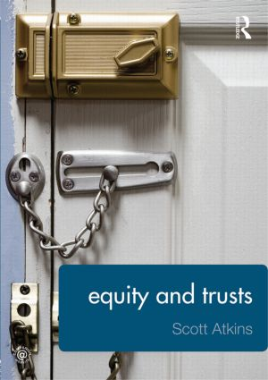 Equity and Trusts book cover