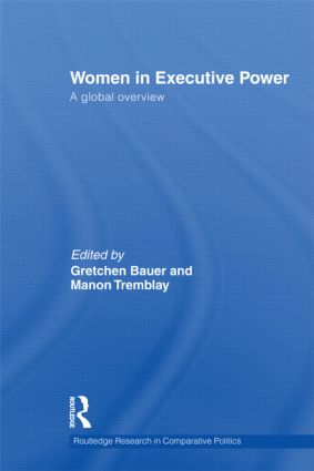 Women in Executive Power: A Global Overview, 1st Edition (Hardback) book cover