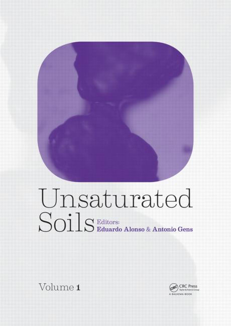Unsaturated Soils, Two Volume Set (Pack - Book and CD) book cover