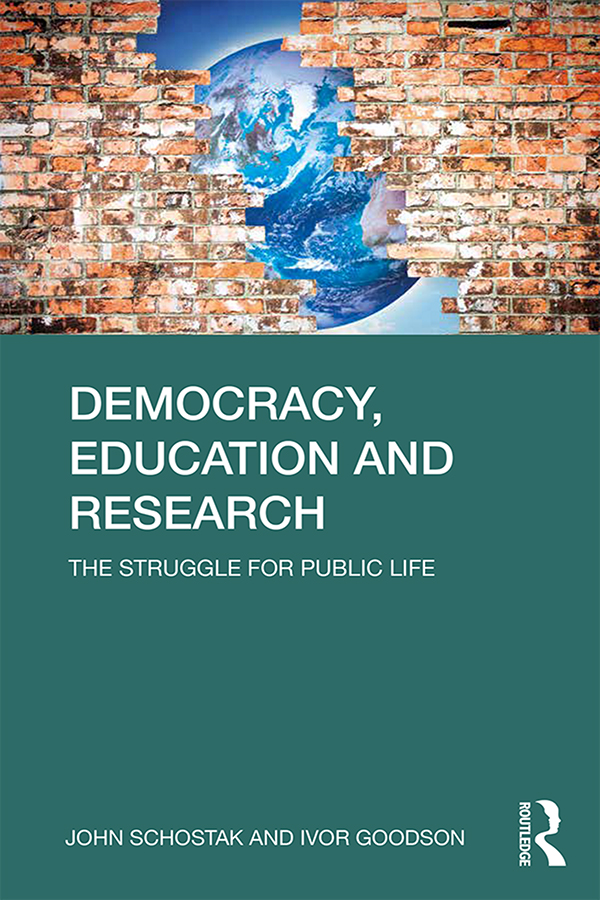 Democracy, Education and Research: The Struggle for Public Life, 1st Edition (e-Book) book cover