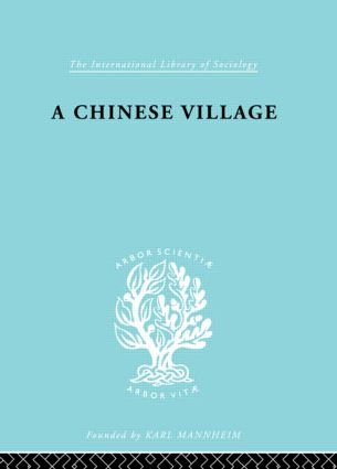 Chinese Village Ils 52: 1st Edition (Paperback) book cover