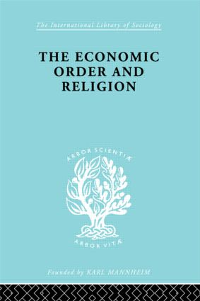 Econ Order & Religion Ils 76: 1st Edition (Paperback) book cover